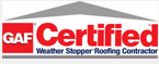GAF Certified Roofs